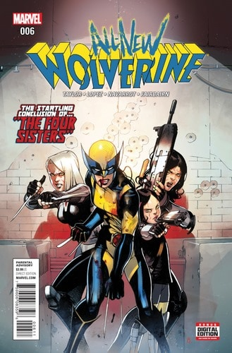 Cover All-New Wolverine Volume 6